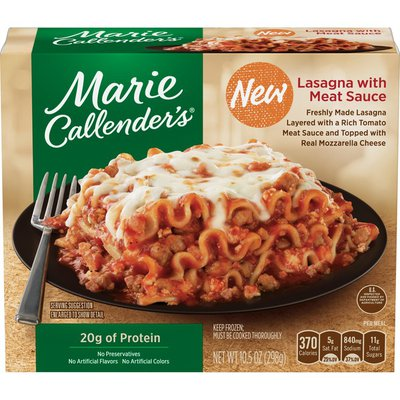 Marie Callender's Lasagna With Meat Sauce