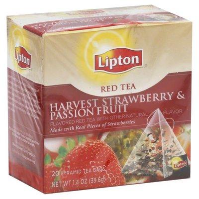 Lipton Red Tea, Harvest Strawberry & Passion Fruit