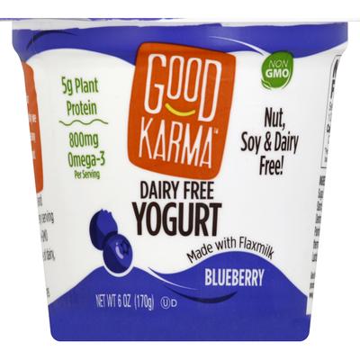 Good Karma Dairy Free Yogurt Blueberry