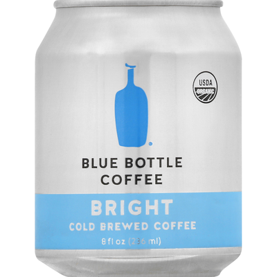 Blue Bottle Coffee Co. Coffee, Cold Brewed, Bright