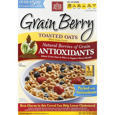 The Silver Palate Whole Grain Toasted Oats with Onyx Sorghum Cereal