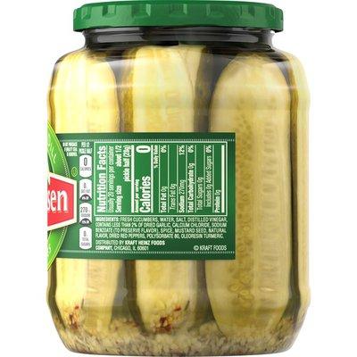 Claussen Kosher Dill Pickle Halves