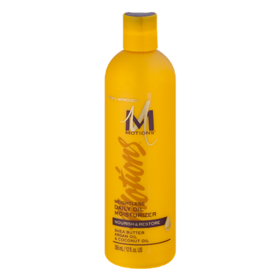 Motions Moisturizer, Daily Oil, Weightless