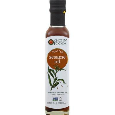 Chosen Foods Sesame Oil, Toasted, Expeller Pressed