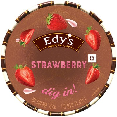Edy's/Dreyer's Strawberry Ice Cream