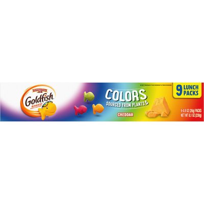 Pepperidge Farm®  Goldfish® Colors Cheddar Crackers
