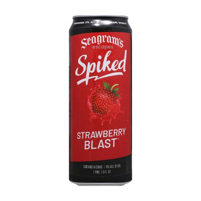 Seagram's Escapes Spiked Strawberry Blast
