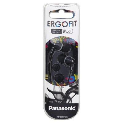 Panasonic Earphones, Stereo, for iPod, Black