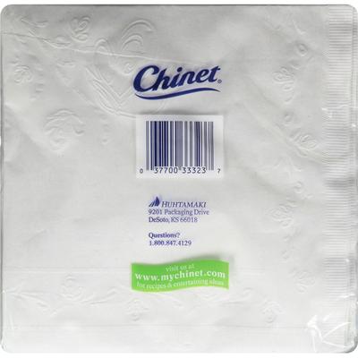 Chinet Napkins, Premium, Classic White, All Occasion, 2 Ply