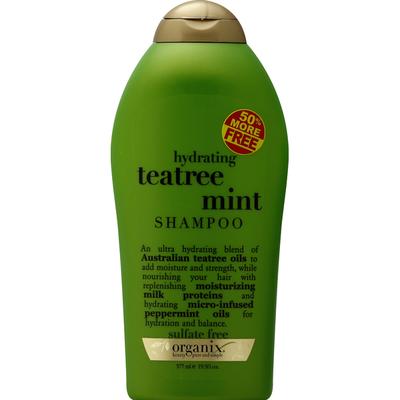OGX Shampoo, Hydrating Teatree Mint