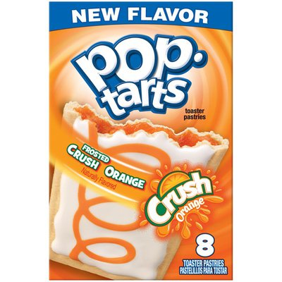 Kellogg's Frosted Crush Orange Toaster Pastries