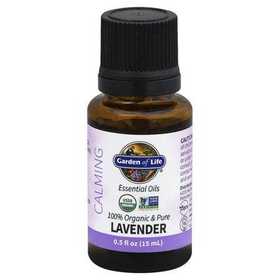 Garden of Life Essential Oils, Calming, Lavender