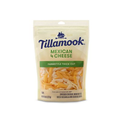 Tillamook Mexican 4 Cheese Blend Shredded Cheese
