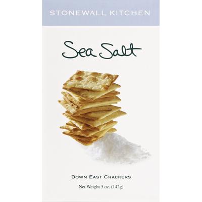 Stonewall Kitchen Down East Kitchen Crackers, Sea Salt