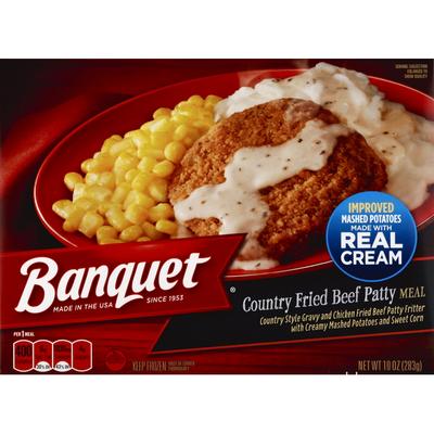 Banquet Classic Chicken Fried Beef Steak Meal