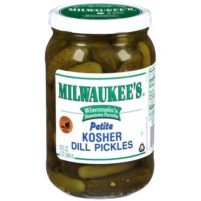 Milwaukee's Petite Kosher Dill Pickles