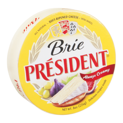 Président Brie Cheese, Soft‑Ripened