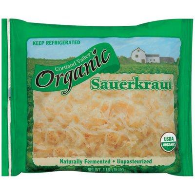 Cortland Valley Organic Sauerkraut