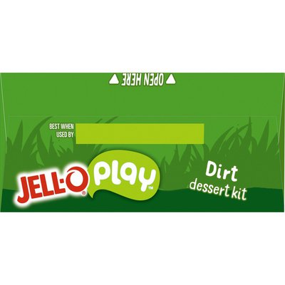 Jell-O Dirt Dessert Kit with Chocolate Pudding Mix, Gummy Creatures & Oreo Crumbs