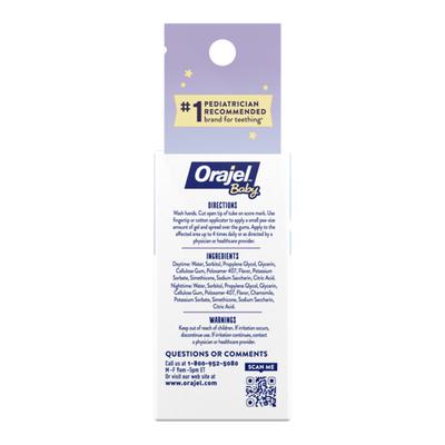 Orajel Daytime & Nighttime Non-Medicated Cooling Gels for Teething