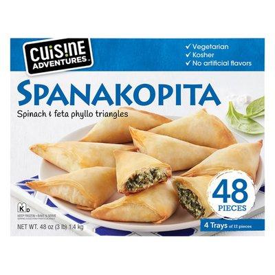 Cuisine Adventures Spanakopita Spinach & Feta