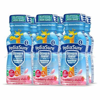 PediaSure Grow & Gain Strawberry Shake For Kids- 6 Ct