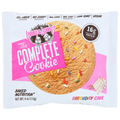 Lenny & Larry's The Complete Cookie- Birthday Cake