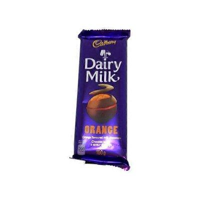 Cadbury Dairy Milk Orange Flavoured Milk Chocolate