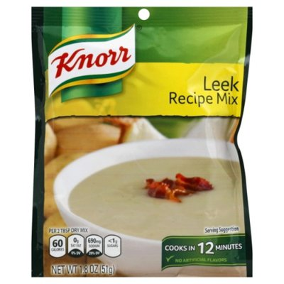 Knorr Soup Mix And Recipe Mix Leek