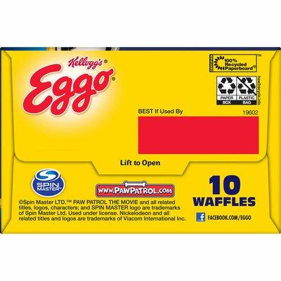 Eggo PAW Patrol Frozen Waffles, Frozen Breakfast, All Day Kids Snacks, Homestyle
