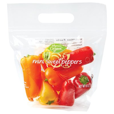 Wegmans Organic Mini Sweet Peppers