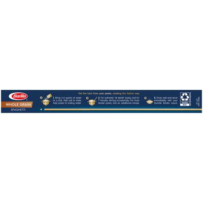 Barilla® Whole Grain Pasta Spaghetti