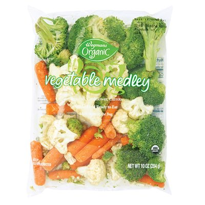 Wegmans Organic Food You Feel Good About Cleaned and Cut Vegetable Medley