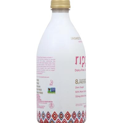 Ripple Nutritious Pea Milk, Unsweetened Vanilla