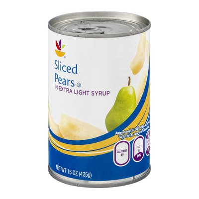 SB Sliced Pears In Extra Light Syrup