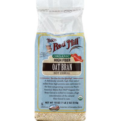 Bob's Red Mill Oat Bran, Organic