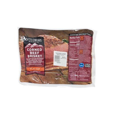 Cattlemen's Ranch Choice Flat Cut Corned Beef Brisket