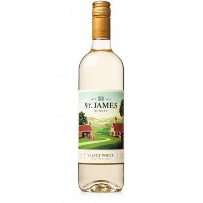 St. James Winery Velvet White