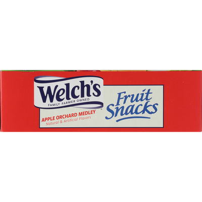 Welch's Fruit Snacks, Apple Orchard Medley