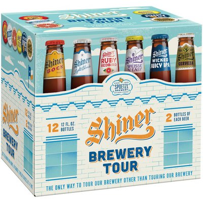 Shiner Brewery Tour Beer Variety Pack