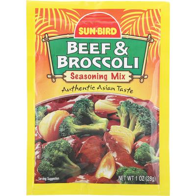 Sun-Bird Bef & Broccoli Seasoning Mix