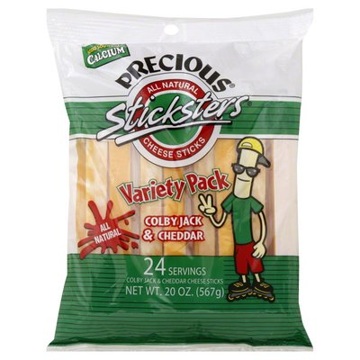 Galbani Cheese Sticks, Variety Pack, Colby Jack & Cheddar