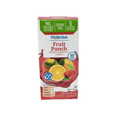 Fit & Active Single Serve Fruit Punch Drink Mix