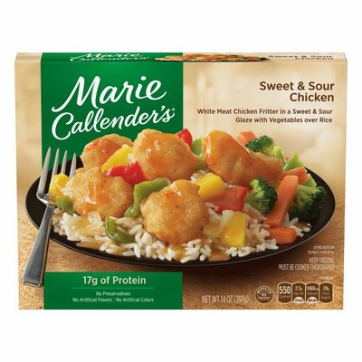 Marie Callender's Sweet And Sour Chicken Dinners