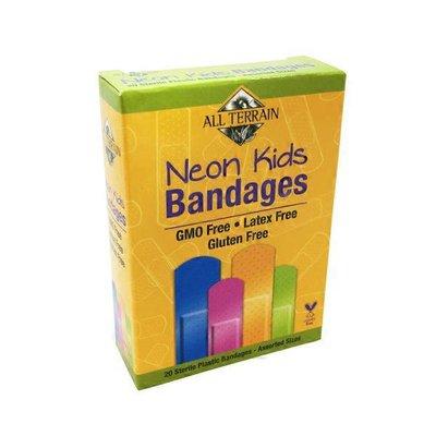All Terrain Latex Free Neon Kids Plastic Bandages
