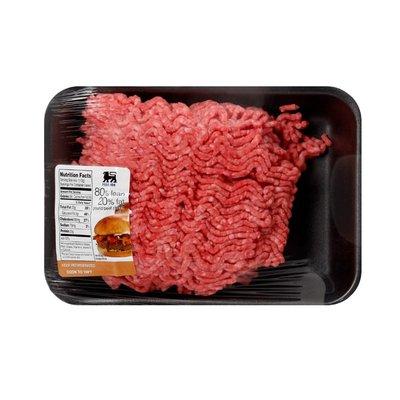 Food Lion Fresh Ground Beef Chuck, 80/20