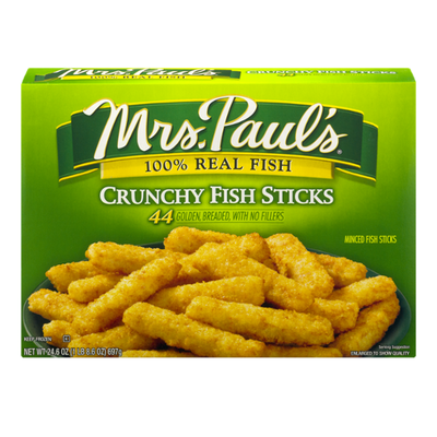 Mrs. Paul's Crunchy Fish Sticks