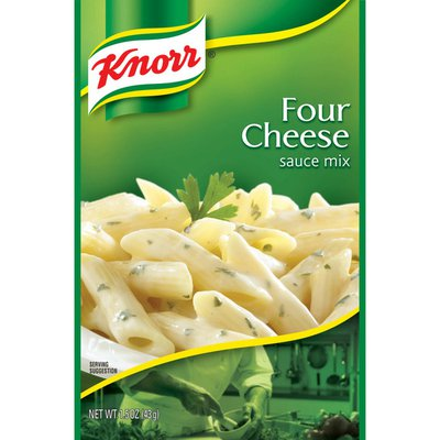Knorr Pasta Sauce Mix Four Cheese