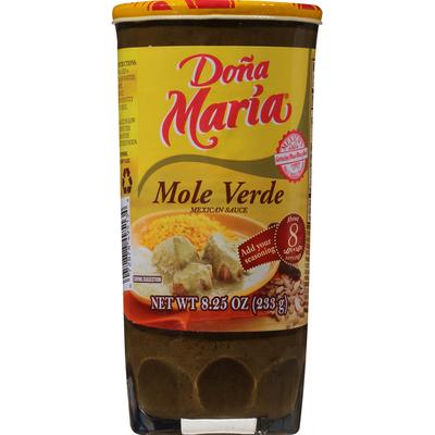 Doña María Mole Verde Mexican Sauce