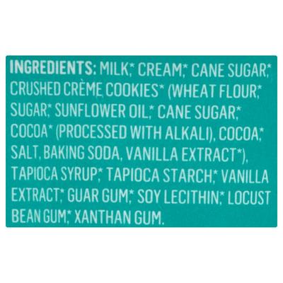 Alden's Organic Ice Cream, Cookies & Cream